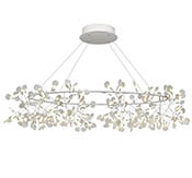 Подвес Heracleum Big O White, 324 LED