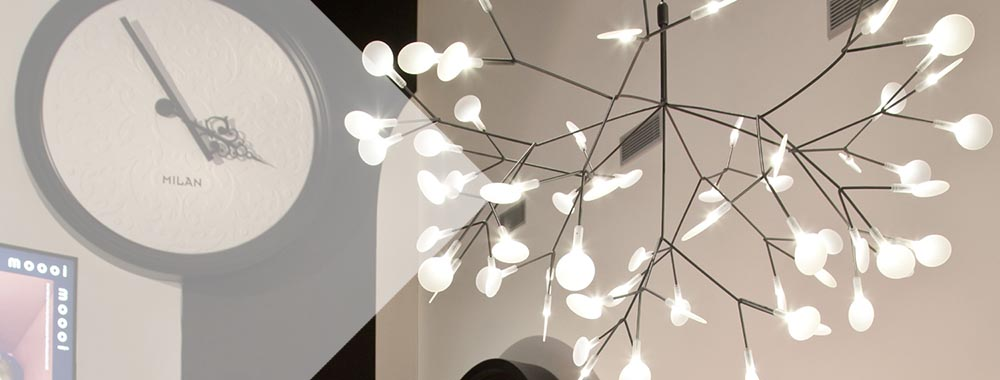 Люстра Heracleum Model M, Белая