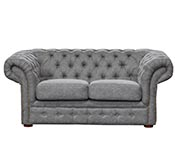 Диван двухместный Chesterfield Vintage Gray