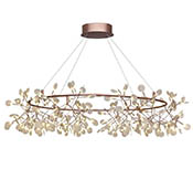 Подвес Heracleum Big O, 324 LED