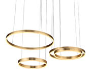 Подвес Light Ring Horizontal Mix Gold