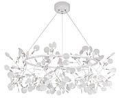 Подвес Heracleum Big O White, 162 LED